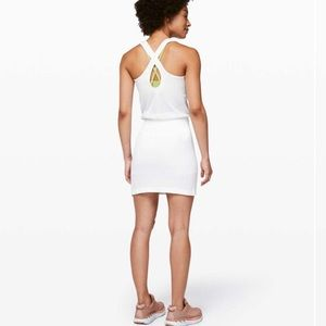 Lululemon Flex On Court Athletic Tennis Dress 8